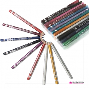 12 EyeLiner Set ( 2in1 pencils )