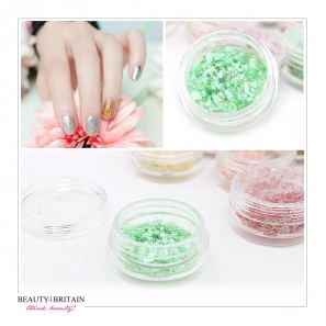 20 Nail Art Decoration Glitter Flakes