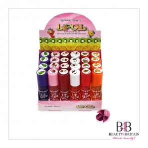 48 Lip Oil / Lip Glow Fruity (6 Mixed Flavours)
