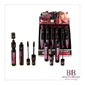 24 Black Luxury Mascara Volumizer 2in1