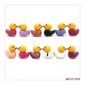 12 Nail Polish Duck Shaped (12 Different Colours) Set C