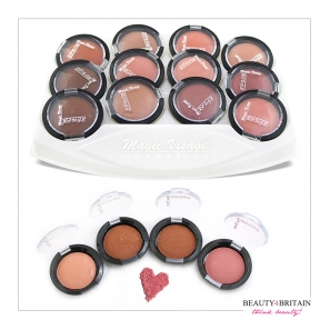 12 Blusher Rouge Set