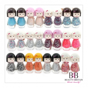 24 Doll Shaped Nail Polish Colours Set A