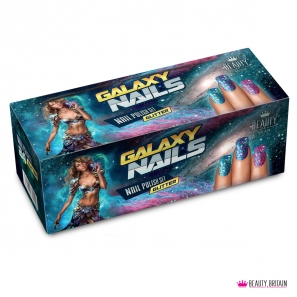 24 Glitter Nail Polish Set Galaxy