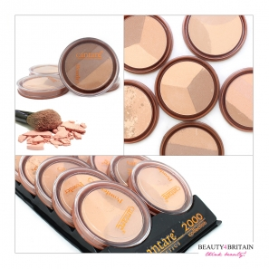 10 Face Powder Set Cantare Triple Shades