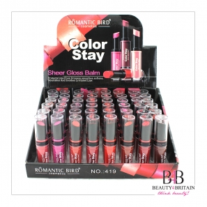 48 Lipstick Set Color Stay