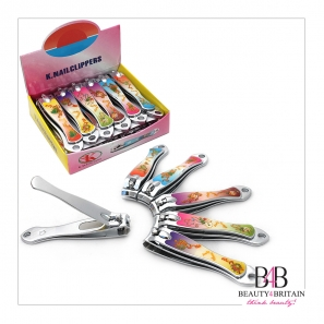 "12 Stainless Steel Big Nail Clipper ""Romantic"""