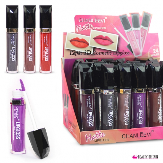 24 Matte Effect Lipgloss - Click Image to Close