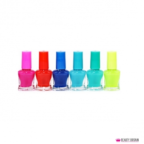 24 Neon Nail Polish Set (24 Luminous Colours Glow in The Dark)