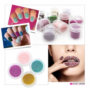12 Colours Nail Art Caviar Decoration