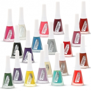 20 Matte Nail Polish Set Umbrella