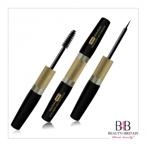 6pcs 2in1 Black Mascara and Black EyeLiner Luxury