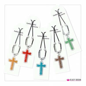 12 Necklaces with Cross