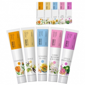 8 x Umido Hand Cream 30ml Free From