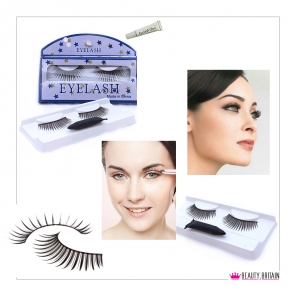 120 Pairs False Eyelashes Pre glued