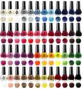 48 Nail Polish Set 48 Different Colours