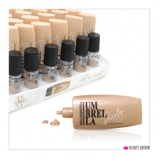24 Foundation Cream Set With Testers