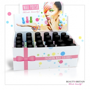 24 Nail Polish 24 Different Colours Set D