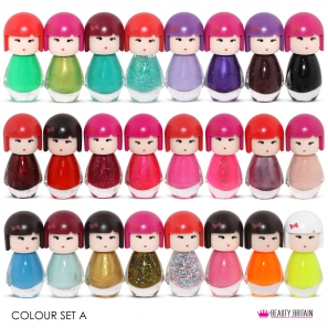 24 Nail Polish Set Dolly