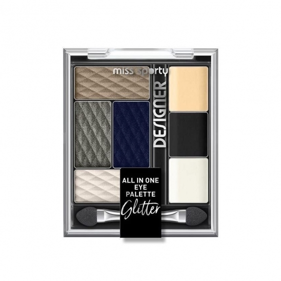 Miss Sporty Designer Eyeshadow All In One Pack of 7