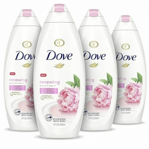 6 Dove Renewing Peony & Rose Oil Shower Gel